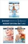 Harlequin Medical Romance August 2015 - Box Set 1 Of 2