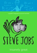 Steve Jobs: Insanely Great - Jessie Hartland Cover Art