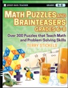 Math Puzzles And Brainteasers Grades 6-8