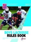 2017 Boys Lacrosse Rules Book - NFHS & James Weaver Cover Art