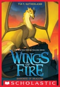 Darkness of Dragons (Wings of Fire, Book 10) - Tui T. Sutherland Cover Art