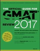 The Official Guide for GMAT Review 2017 with Online Question Bank and Exclusive Video - GMAC (Graduate Management Admission Council) Cover Art
