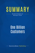 Summary: One Billion Customers