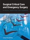 Surgical Critical Care And Emergency Surgery