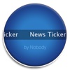 News Ticker scrolling text ticker