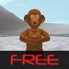 3D Monkey Curling Free