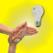 Clap Neon Lamp w/clock for iPad