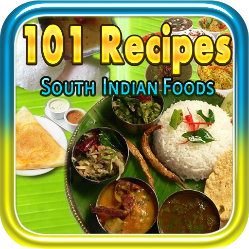 101 recipes south indian food free iphone ipad app market 101 recipes south indian food app icon forumfinder Images