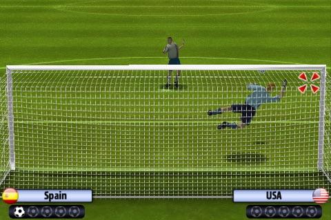 3D Penalty Football World Champ screenshot 3