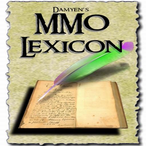 MMO Lexicon iOS App