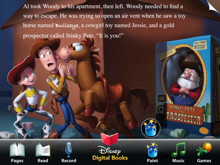Toy Story 2 Read Along