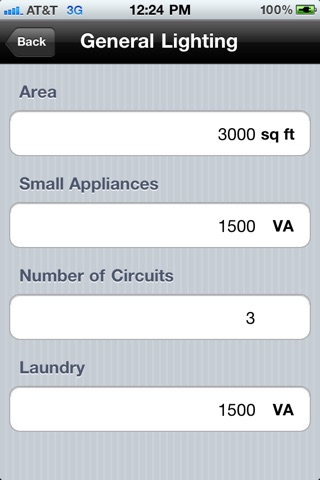 iPhone Screenshot 3  sc 1 st  iTunes - Apple & Electrical Load Calculator on the App Store azcodes.com
