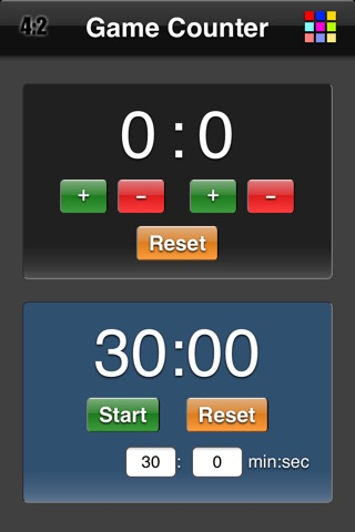 Game Counter WebApp screenshot 3