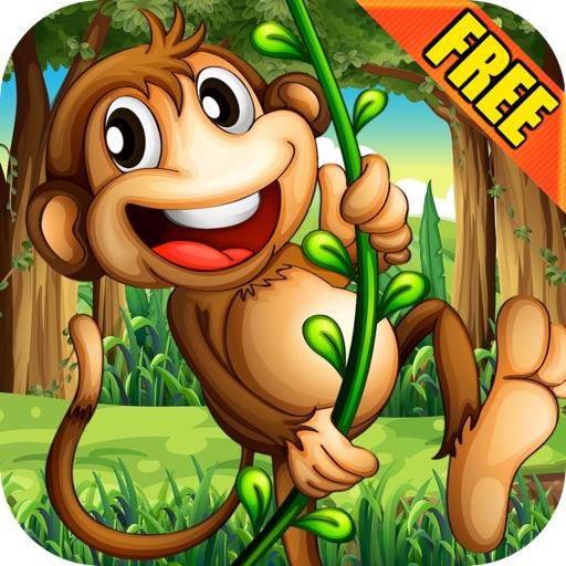 Super Monkey Swing - Jungle Adventure Physics FREE Edition iOS App