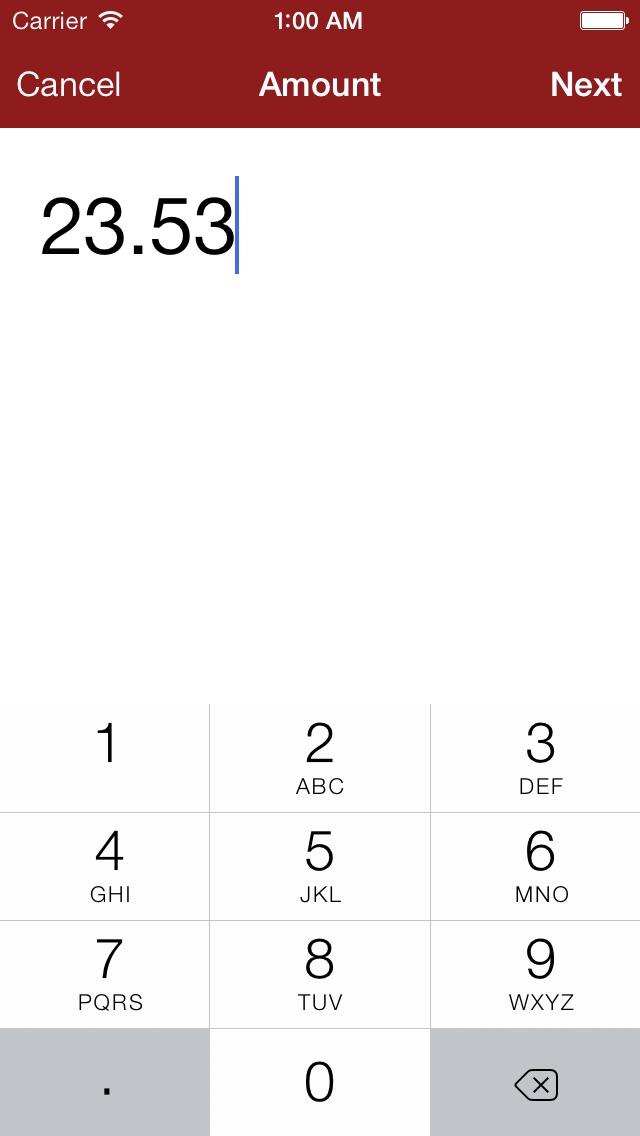 Screenshot #3 for My Checkbook