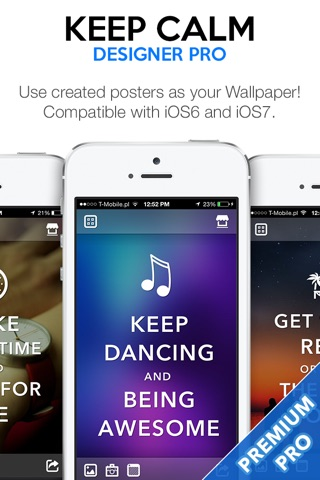 Keep Calm Designer PRO - Create Custom Posters and Wallpapers screenshot 4