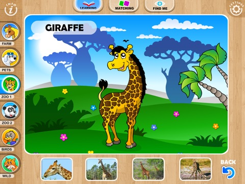 Abby Monkey® Baby Zoo Animals: Preschool activity games for children screenshot 3