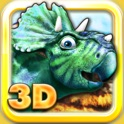 Dinosaurs walking with fun 3D puzzle game for kids and teenagers boys and girls with dinosaurs 3D puzzles and colorful prehistoric dino and animal 3D puzzles icon