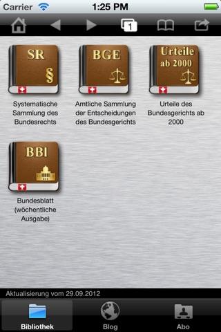 LEXspider screenshot 1