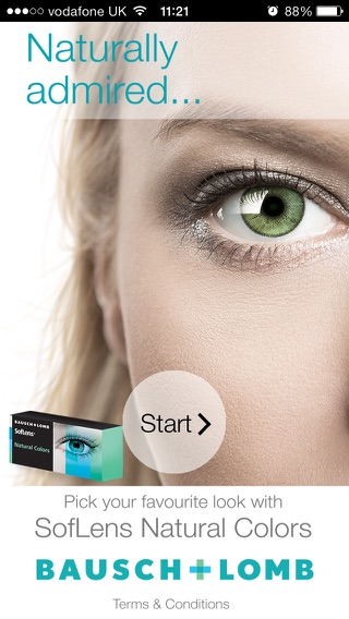 Eye Colours Screenshot