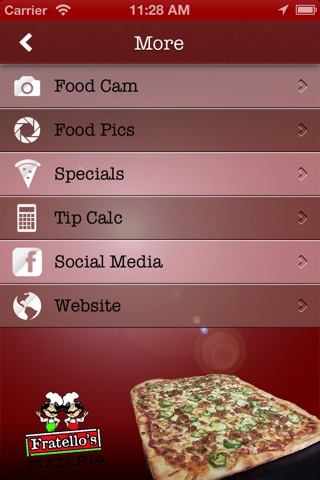Fratello's Pizzeria screenshot 2