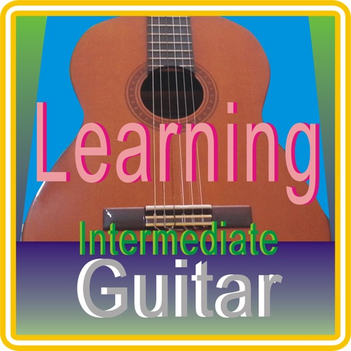 Learning Guitar intermediate level iOS App