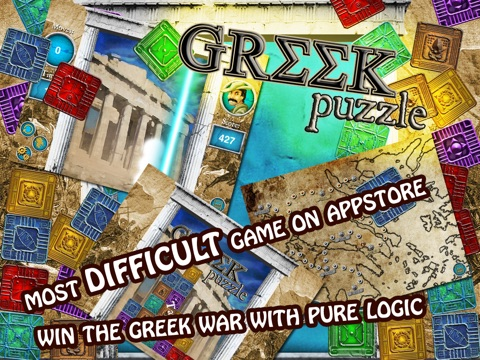 Greek Puzzle screenshot 1