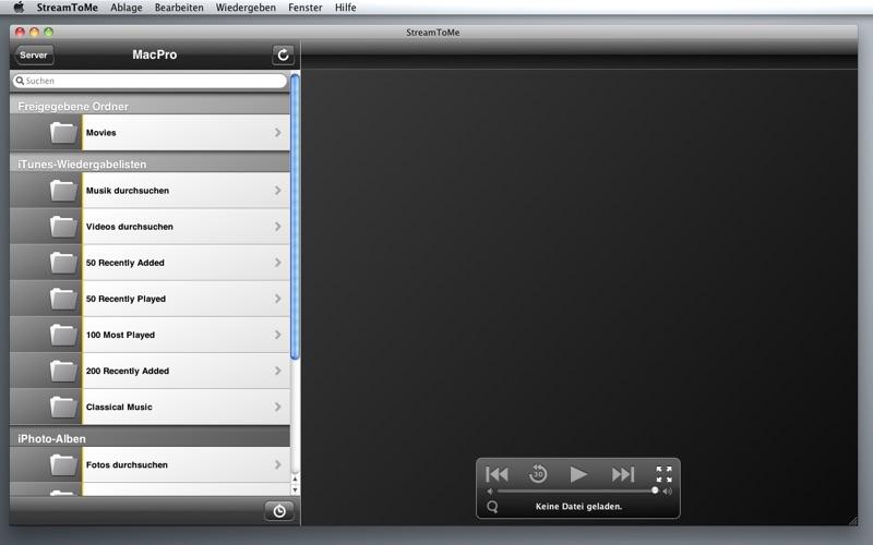 StreamToMe Screenshot