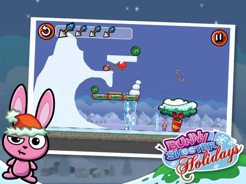 Screenshots of Bunny Shooter Christmas - a Free Game by the Best, Cool & Fun Games for iPad