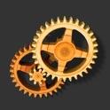 Wood Clock 3D icon
