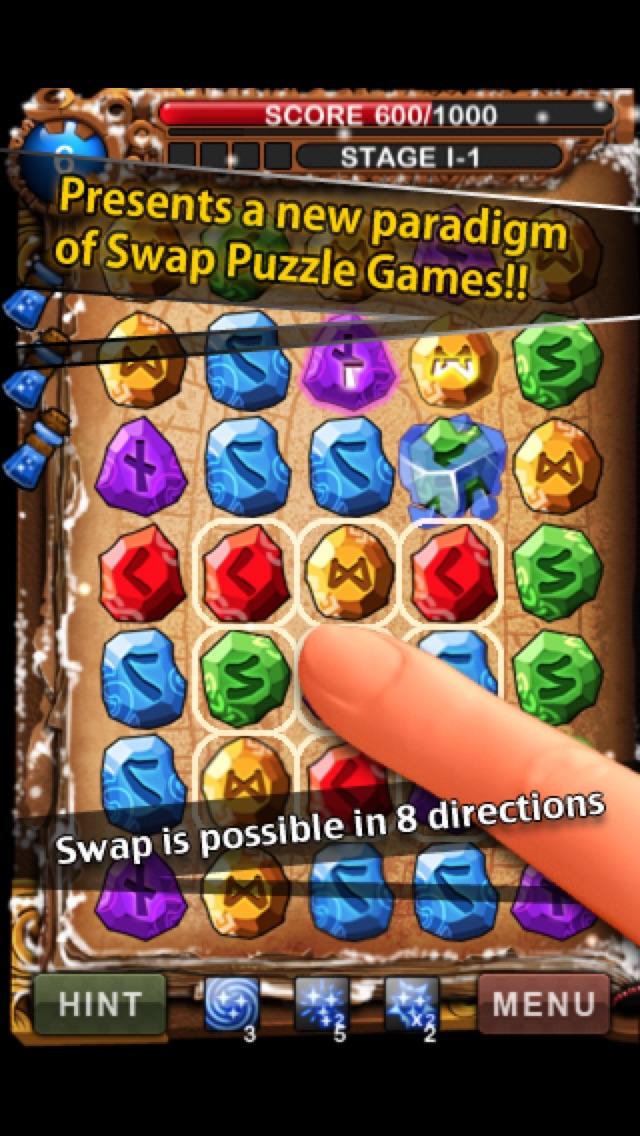 Screenshot #4 for RuneMasterPuzzle