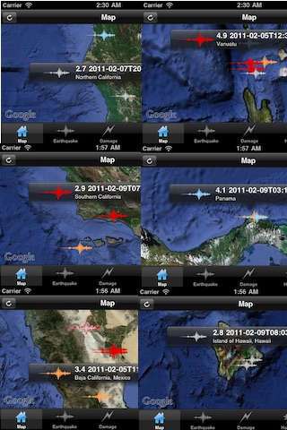 地震危険情報 (Earthquake Pro) screenshot1