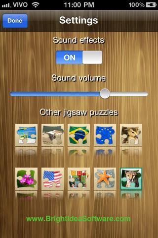 Bright puzzles: Puppies Lite screenshot three