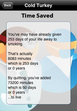 Quit Smoking - Cold Turkey (Lite Version) screenshot 3