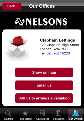 Nelsons Lettings and Sales Property Search screenshot 4