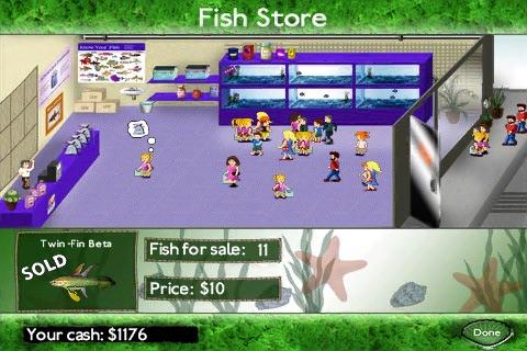 Fish Tycoon Lite screenshot 4