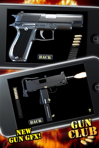 Screenshots of AAA GUN CLUB lite for iPhone