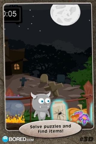Escape Curse of Halloween screenshot 1
