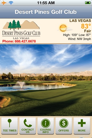 Desert Pines Golf Club screenshot 1