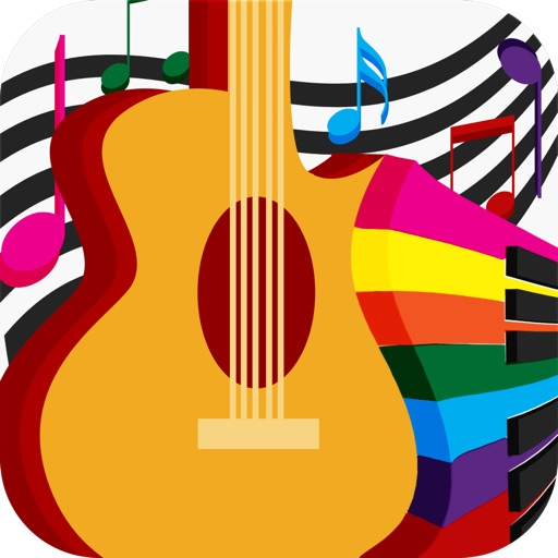 Kids Music Chords HD - For Child To Learn & Play Musical Instrument Games iOS App