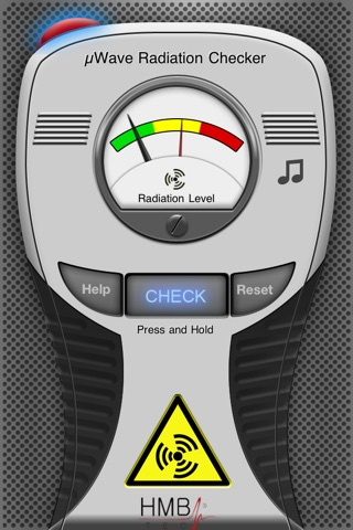 Real Microwave Radiation Checker & Detector for... screenshot 2