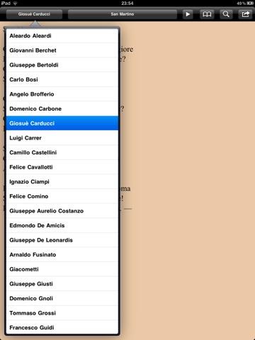 Risorgimento: Inni e poesie per iPad screenshot 3
