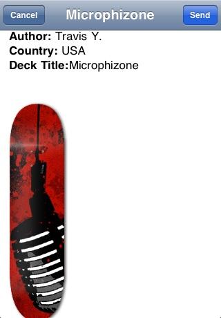Screenshots of Skate Life: Deck Designer for iPhone
