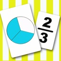 Fraction Flash Cards icon