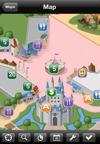 Walt Disney World Magic Kingdom Mini Guide screenshot 1