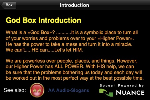 what is a god box