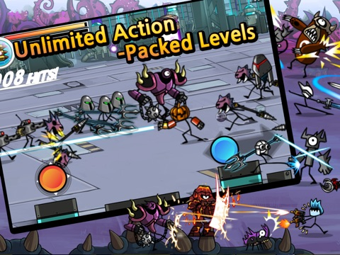 Screenshots of Cartoon Wars: Blade for iPad