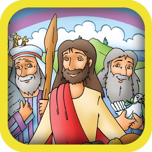 Lift-The-Flap Bible Stories【儿童圣经】