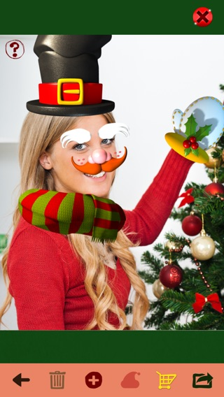 Santa me christmas photo booth make yourself and yr friends into iphone screenshot 2 solutioingenieria Image collections