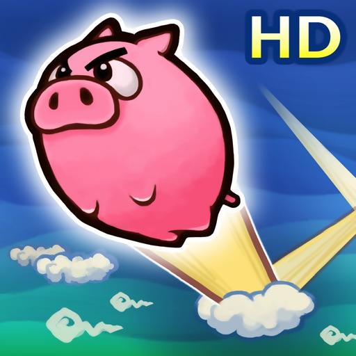愤怒的小猪 Flying Piggy HD【趣味休闲】